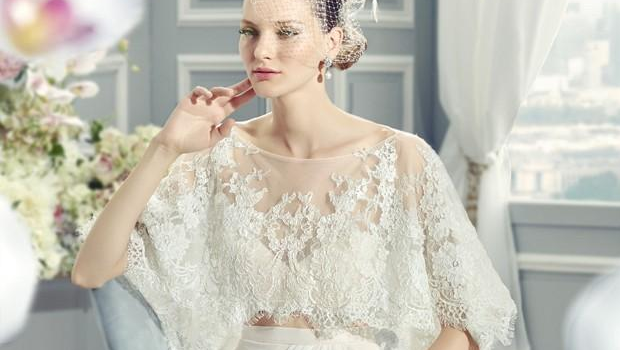Wedding Gown With Cape: 14 Cape Wedding Dresses For A Trendy And New Bridal Look