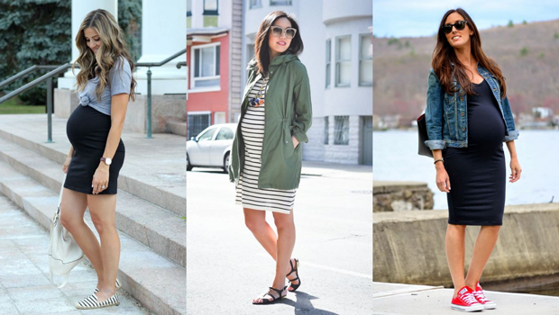 912b2fac0 Fashion Header image article main 18 pregnancy outfits to help you look  casual but cute