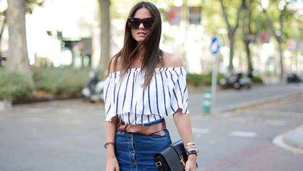 e2550a99e5 20 Outfit Ideas to Prove That You Need an Off-the-Shoulder Top