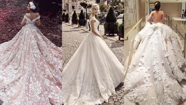28 Photos of Stunning Ball Gown Wedding Dresses Brides Will Just Adore