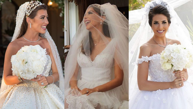 Stunning Wedding Dresses In Beige And Blush: A Closer Look At The Most Stunning Jordanian Brides Of 2016