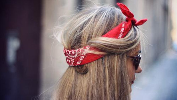 Bandana Hair Style: Six Different Hairstyles Using Your Bandana
