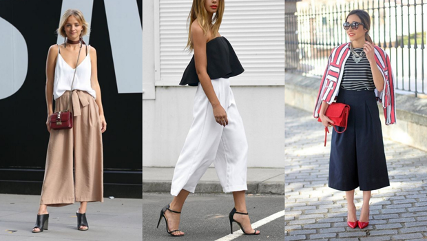 21 Photos to Show You Why Culotte Pants Are as Chic as Ever