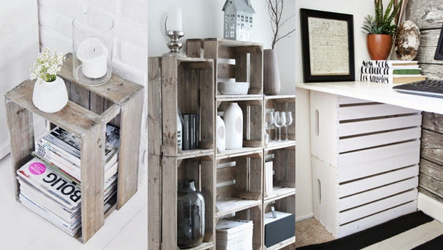 Easy Ways To Reuse Wooden Crates