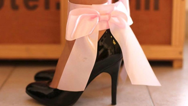 452ac744a995 Lifestyle Header image article main diy simone heng kate spade grande bow  inspired heels