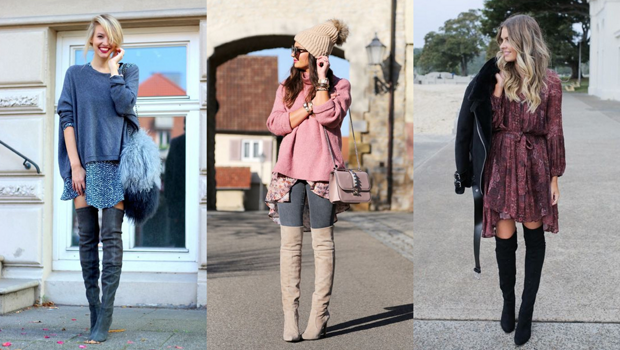 2d897899c97 20 Different Ways to Wear Over-the-Knee Boots