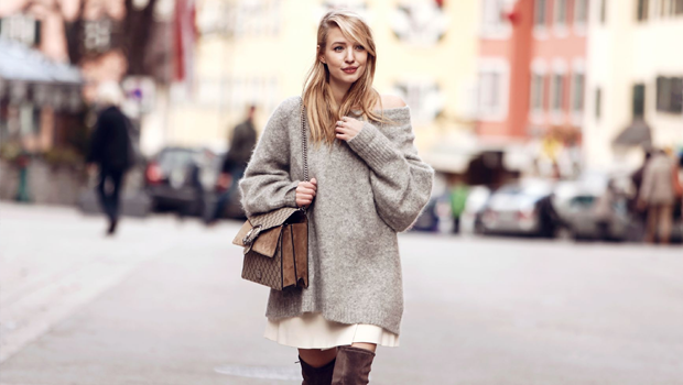 22 Stylish Looks to Help You Wear Oversized Sweaters in Many Ways