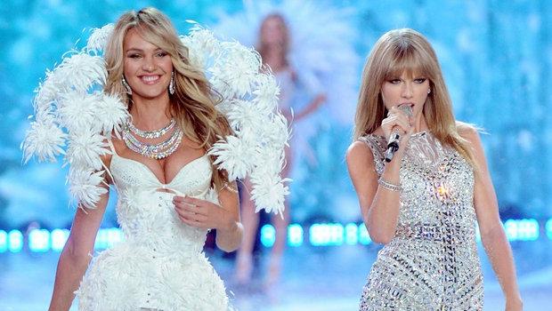 b40dc23c5d9 Taylor Swift Looks at the 2013 Victoria s Secret Fashion Show