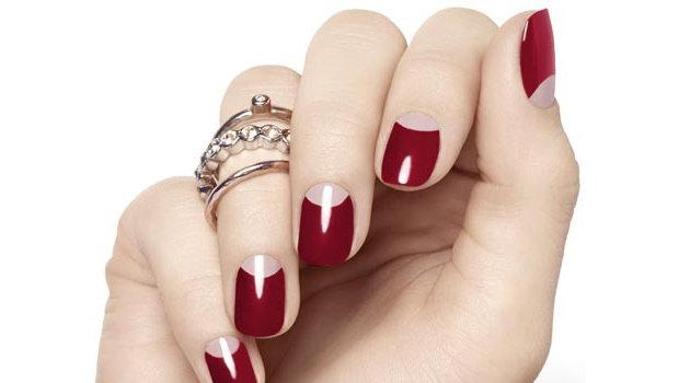 Trend Alert Half Moon Manicure