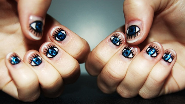 - Trend Alert: Evil Eye Nail Art