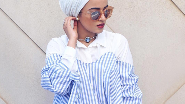 Your Style Guide To Wear Off The Shoulder Tops With Hijab