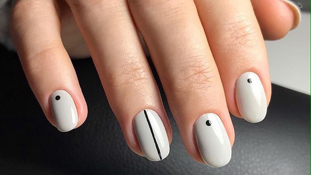 Beauty Header image fustany beauty nails nail art simple easy design  mainimage - These Chic Nail Art Designs Show How Hassle Free Nail Art Can Be