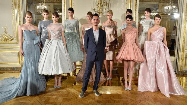 Paris Haute Couture Fall 2015 Rami Al Ali S Vintage Inspired