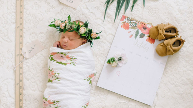 Picture Ideas For Newborn Girl
