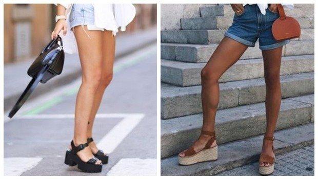 Ways to Wear Platform Sandals with
