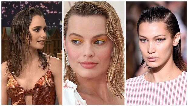 How To Get The Sexy Celebrity And Runway Wet Hair Look