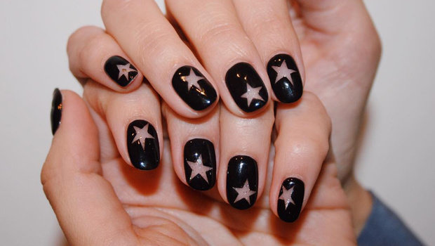 Black Nail Polish Is Back Check Out How You Can Make It Less Basic