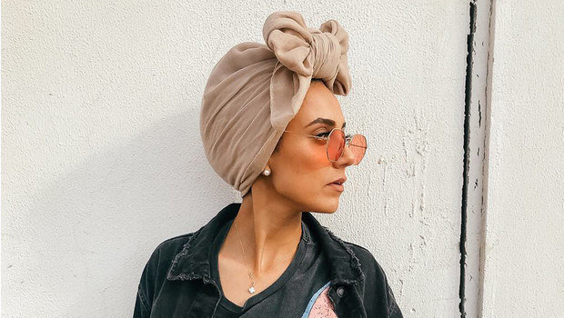 To All Hijabis Out There Dare To Try This Unique Bow Turban