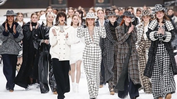Image result for karl lagerfeld last collection