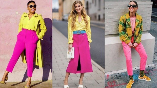 3af588b5922386 Fashion Header image fustany fashion style ideas pink and yellow outfit  combination ideas mainimage
