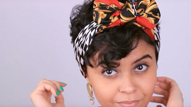 5 Ways To Wear And Wrap A Bandana For Short Hairstyles