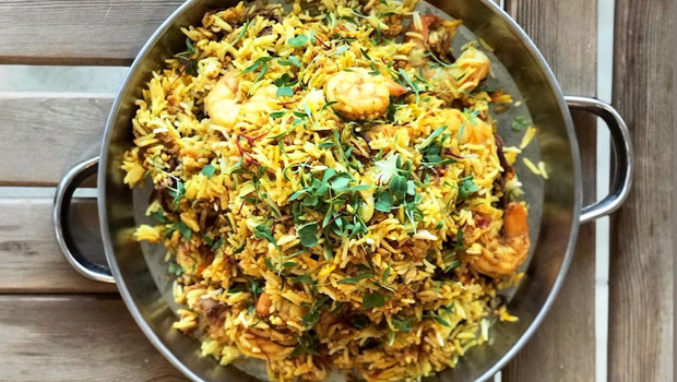 A Shrimp Biryani Recipe By Chef Suzanne Mokhtar To Satisfy Your