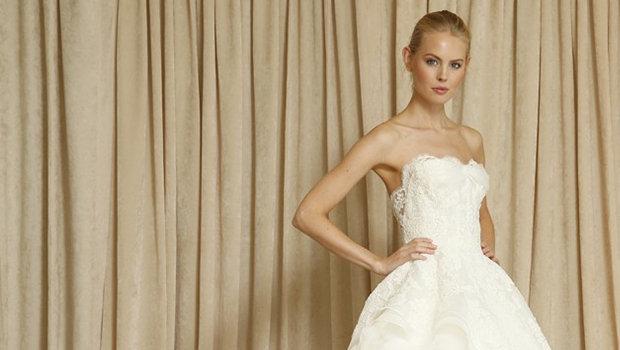 Oscar De La Renta Fall 2014 Bridal Collection