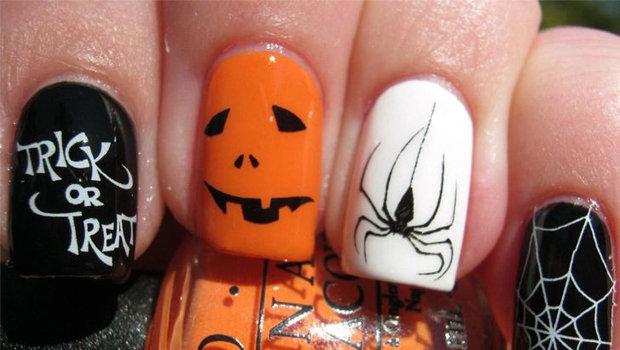 Spooky Nail Art For Halloween