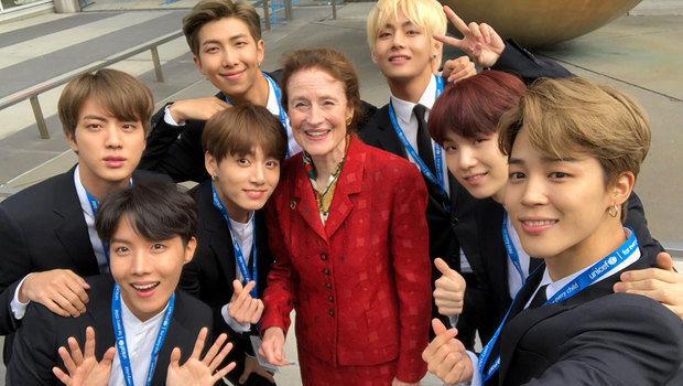 why boy band bts was invited to speak at the united nations