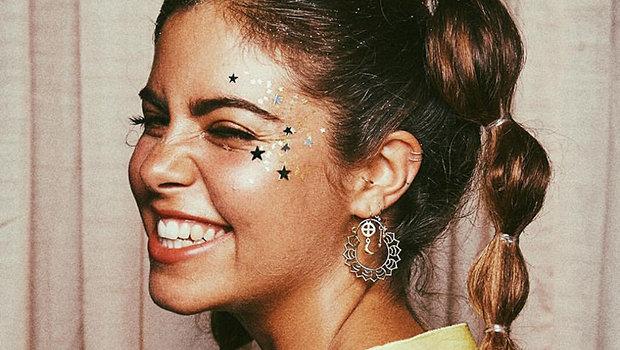 10 Glitter Makeup Looks for Fun Summer Parties