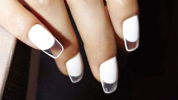 how to get clean white nails