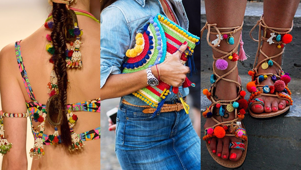 Fashion Trends 2019 >> 21 Pom-Pom Accessories for Your Inner Bohemian Spirit