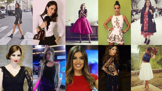 20 Arab TV Presenters with Very Stylish Instagram Accounts