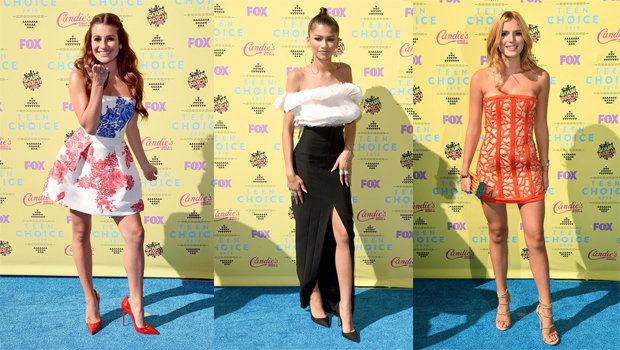 Teen Choice Awards 2015 Best Dressed Celebrities