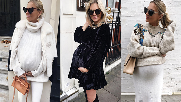 76619cd7c26 This Fashion Blogger Is 9 Months Pregnant
