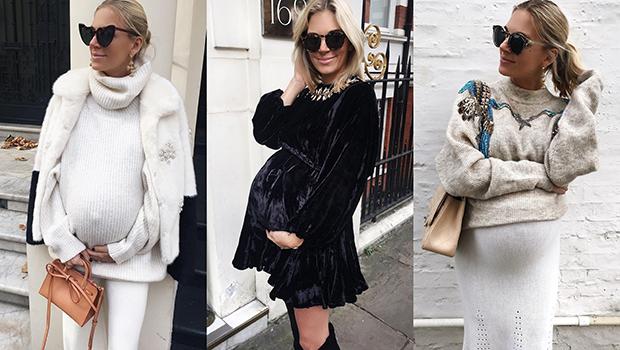 707ea20a0b This Fashion Blogger Is 9 Months Pregnant