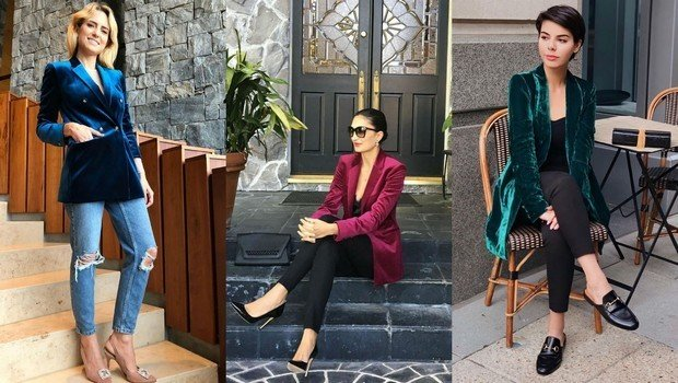 14 Bloggers Outfits Proving Velvet Blazers To Be Winters