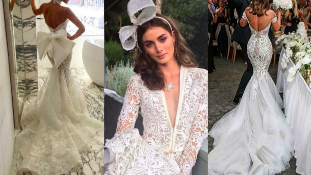 40 Photos of Unique Steven Khalil Wedding Dresses Any Bride Will Love