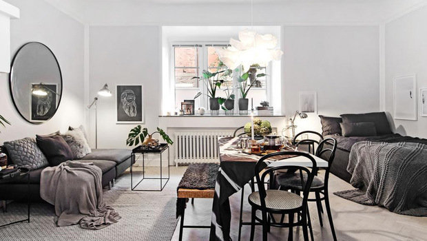 These Studio-Apartment Decor Ideas Show How Less Space Can ...