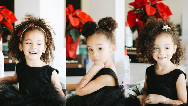 Adorable Christmas Hairstyle Inspirations for Your Little One