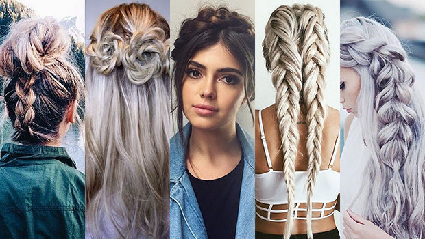 your ultimate guide to make five different braided hairstyles