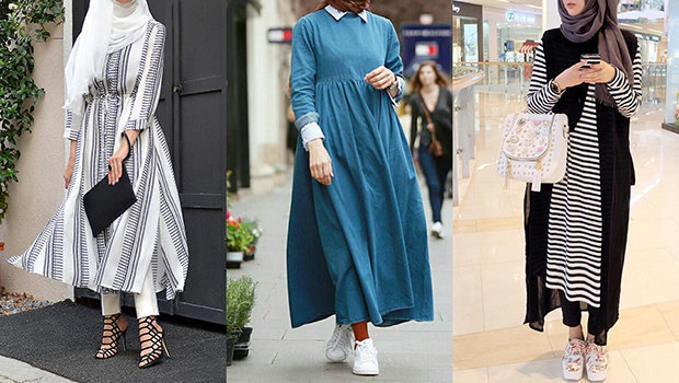 17 Casual Hijab Dresses For A Very Fashionable Spring Style