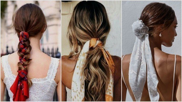 Friday Fashion Fits How To Wear A Scarf With Different Hairstyles