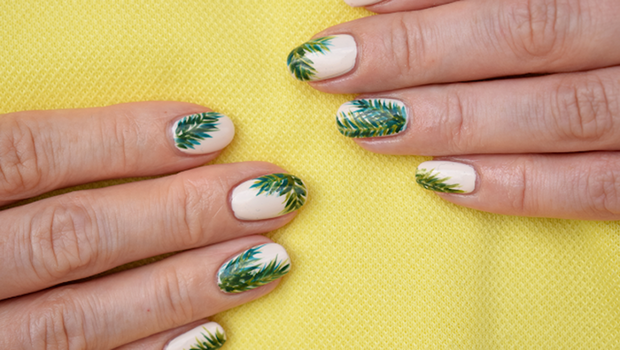 Video A Cool And Easy Tropical Nail Art Tutorial For Summer 2018