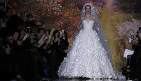 Bridal Looks at Paris Haute Couture Fashion Week Spring 2014