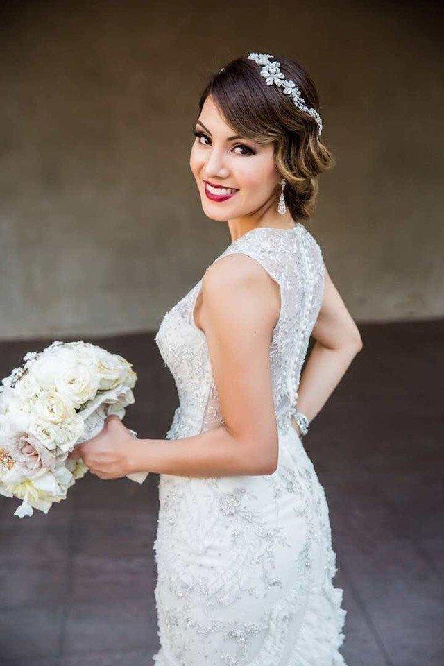 beauty makeup photos prove that brides totally wear lipstick