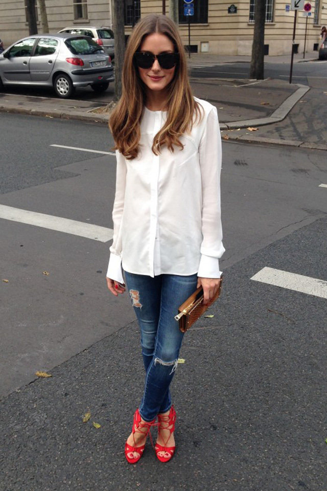 Fustany Celebrity Style Olivia Palermo Paris Fashion Week Spring 2014 Quotes