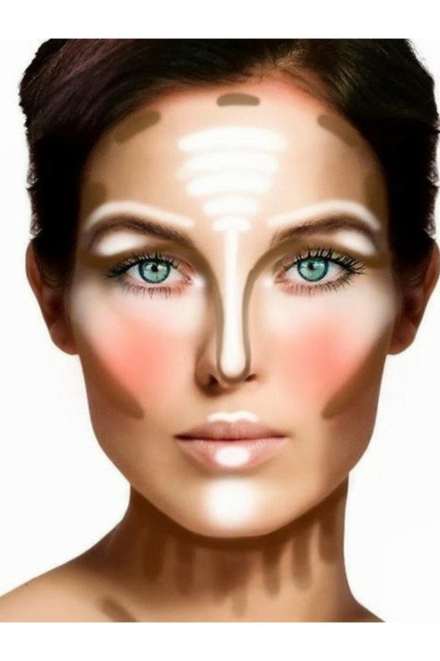 Contour Line Drawing Makeup : How to draw contour lines makeup saubhaya