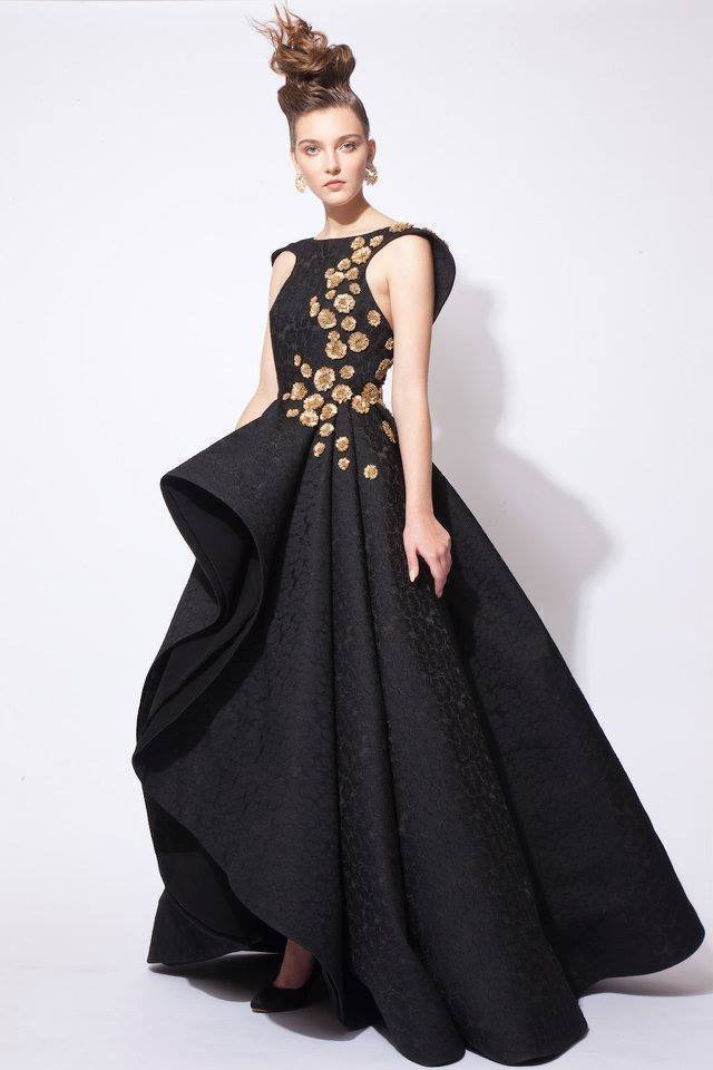 Azzi osta 39 s haute couture fall winter 2016 collection is for Haute couture designers
