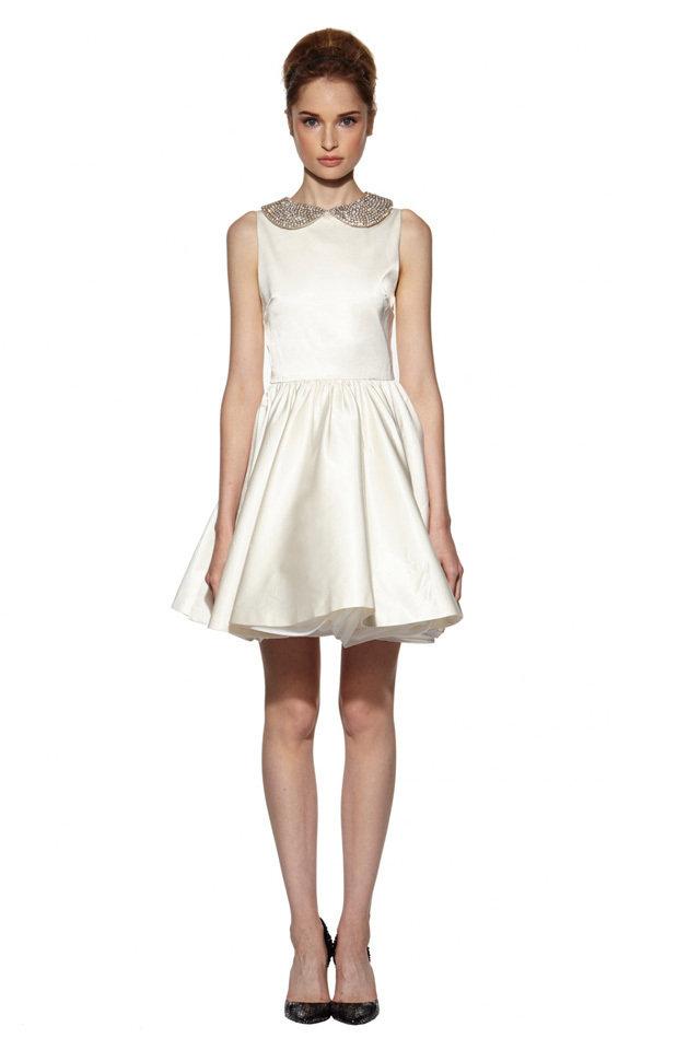 short white dresses for your bridal shower. Black Bedroom Furniture Sets. Home Design Ideas